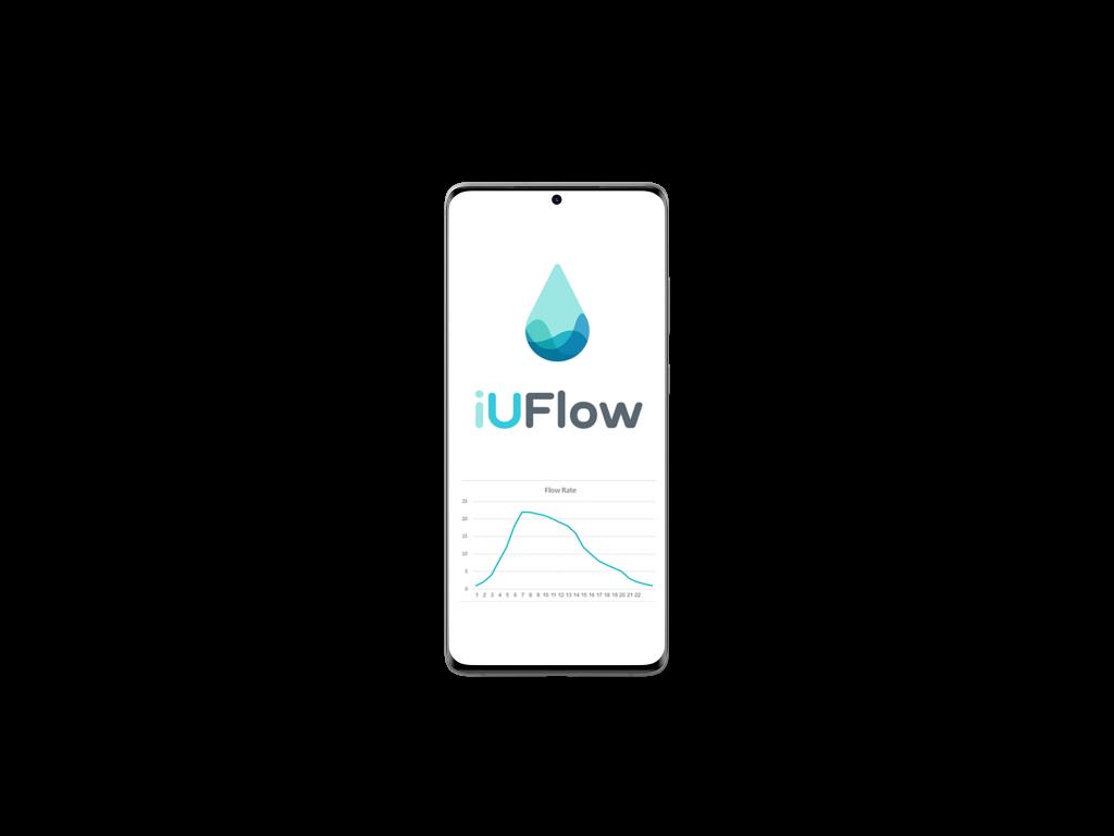 iUFlow flow rate chart